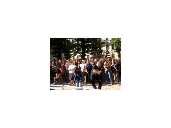В сквере на Стремянной отметили «День Сайгона»