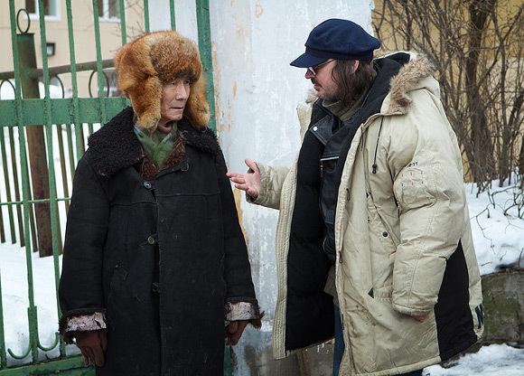 Артист Михаил Скрябин и режиссер Алексей Балабанов