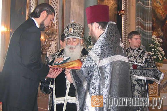 Кулибаба и митрополит Санкт-Петербургский и Ладожский Владимир