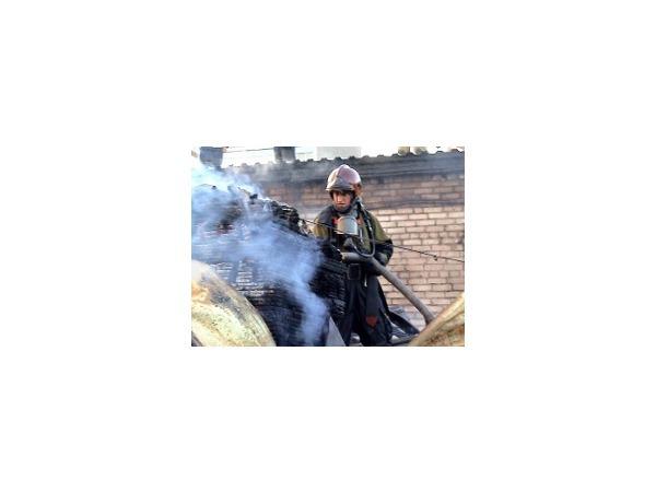 Пожар на Уральской тушили по второму номеру сложности