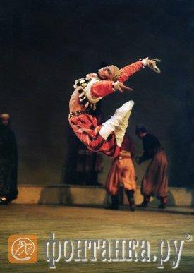 Зубковский на сцене