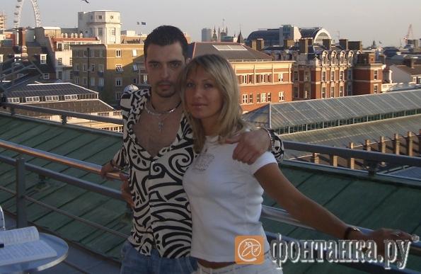 С несостоявшейся женой Кариной Балаян