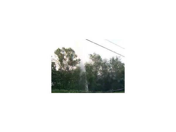 На Афонской рванул гейзер кипятка