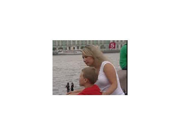 Инга Рантала с сыном приехали в Петербург