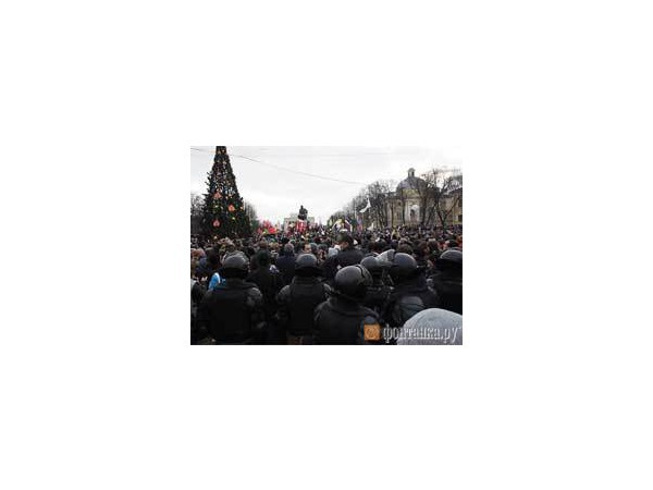 Митинг на Пионерской собрал участников в три раза больше, чем ожидалось