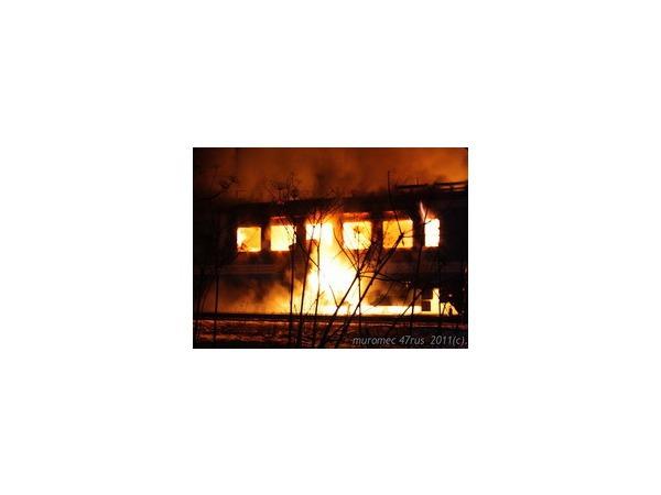 Пассажирам загоревшегося поезда Петербург - Ивангород пришлось выпрыгивать из горящего вагона