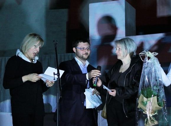 Марину Алексееву и Бориса Казакова награждают за «Маршрутку»