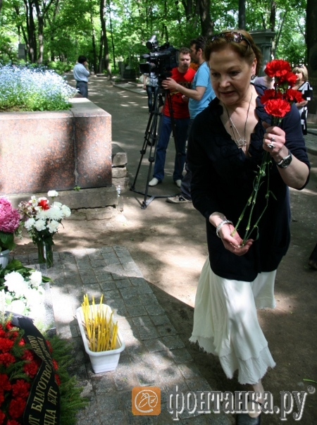 Вдова актера Екатерина Толубеева-Марусяк