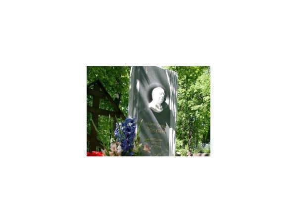 На Литераторских мостках открыт памятник Андрею Толубееву