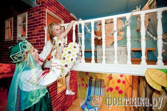 """""""Сказкин дом"""" - первый детский интерактивный музей на площади 500 квадратных метров, открывшийся в Петербурге в 2009 году без какой-либо поддержки города"""