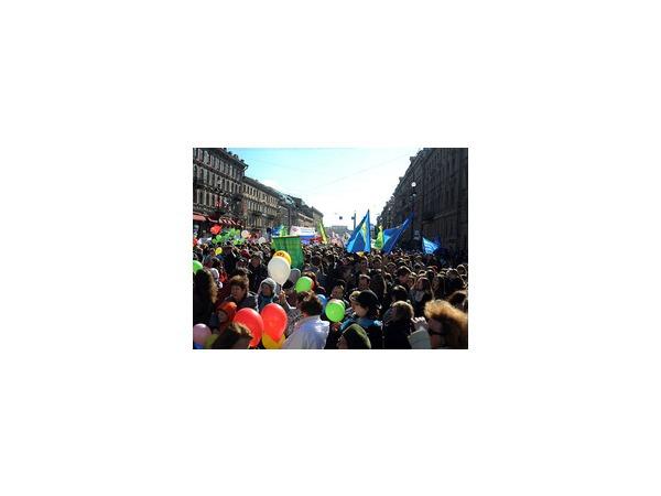 Полтавченко не приехал возглавить первомайское шествие единороссов и профсоюзов
