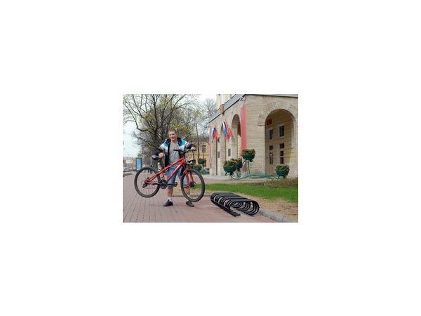 Велопарковки в городе: мало и неудобно