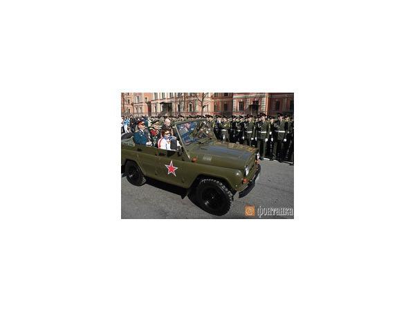 День Победы перекроет автомобилям центр