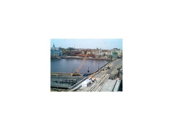 Полтавченко поручил открыть движение на Пироговской набережной 27 мая. Трансляция
