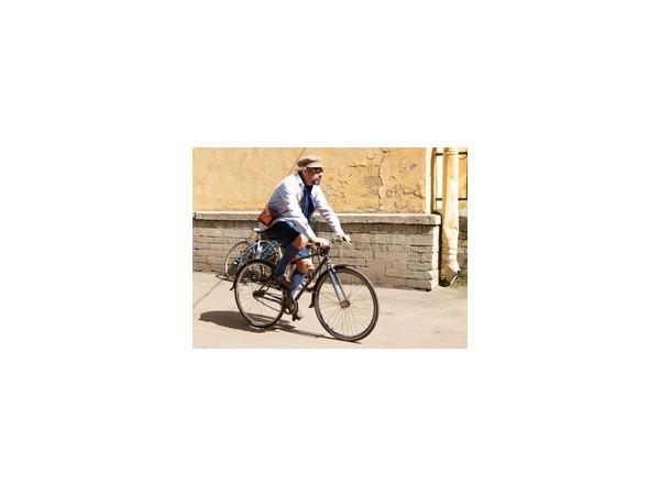 Главное не скорость, а стиль: в Петербурге состоялся Твидовый велопробег