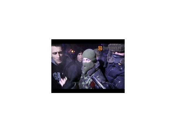 На Майдане задержали провокатора с пистолетом