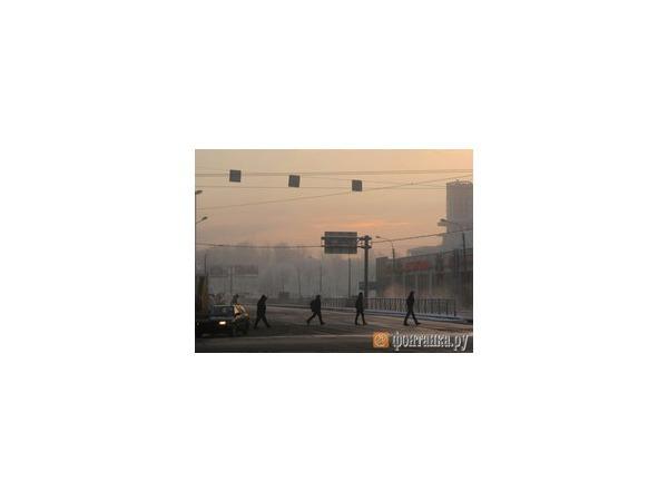 В Петербурге морозно и туман, но уже в пятницу потеплеет до -10