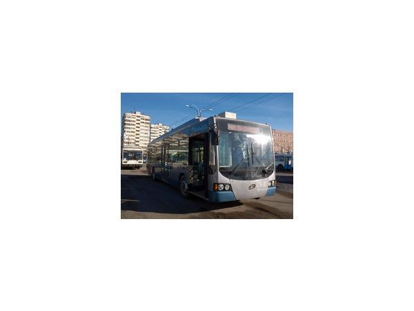 «Горэлектротранс» испытывает троллейбус с автономным ходом до 50 км