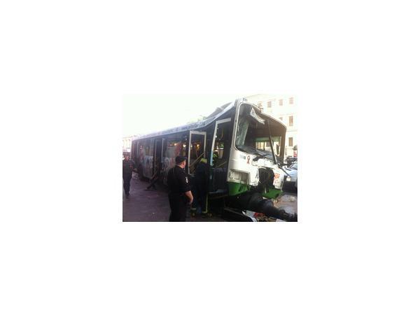 Автобусу не хватило Невского
