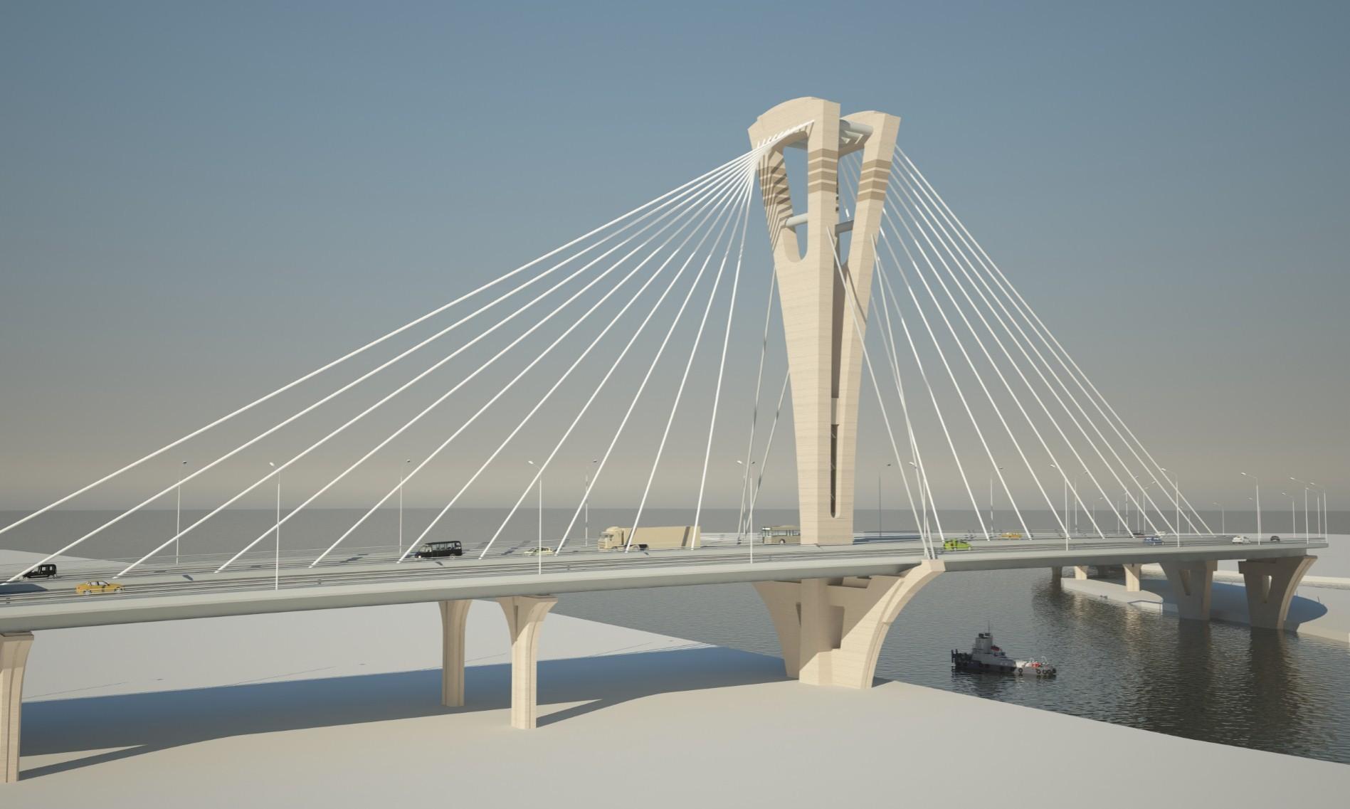 Мост через остров Серный