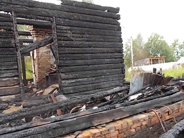 РОСГОССТРАХ выплатил более одного миллиона рублей за сгоревший дом