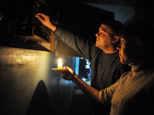 Город вновь без электричества