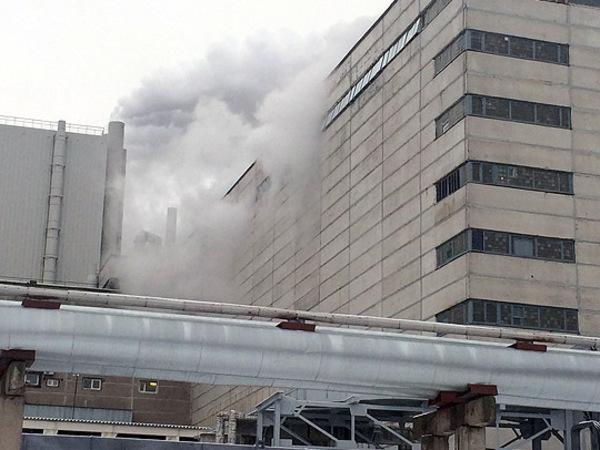 Очевидцы показали парение над вторым энергоблоком ЛАЭС