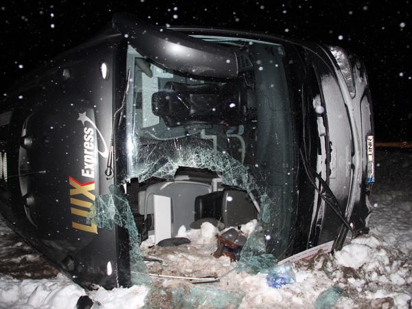 По факту ДТП с автобусом в Эстонии будет проведено уголовное расследование