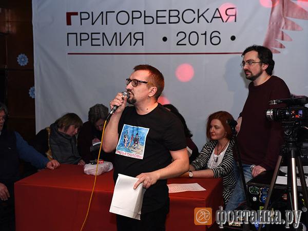 Карп Тузлов: Об итогах Григорьевской премии, поэзии и Чикатило