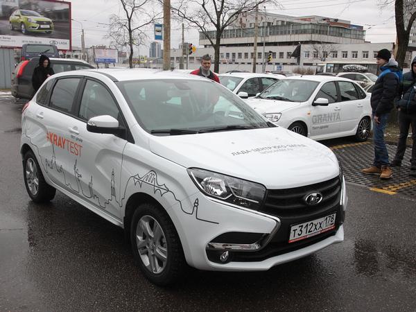 Автоклуб с Денисом Шубиным: Кроссовер Lada X-Ray вступает в игру