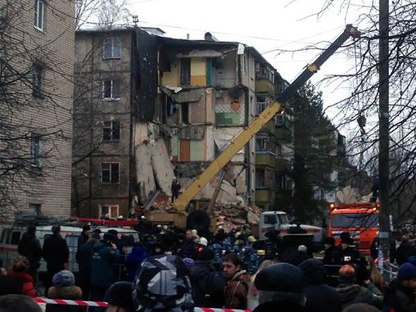 Дом в Ярославле, где взорвался газ, может обрушиться в любой момент