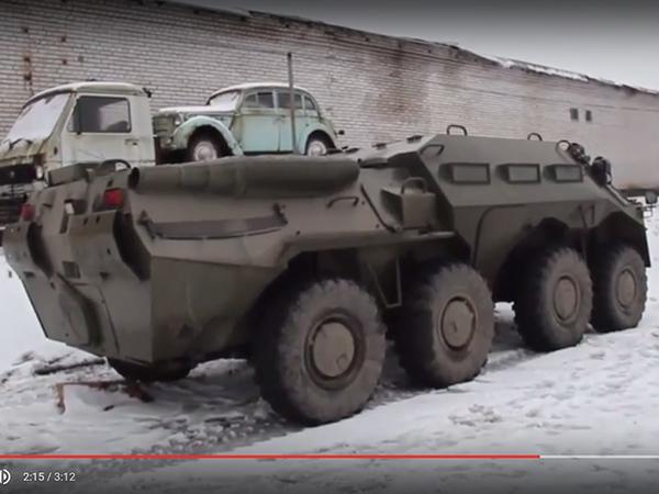 Погоня за БТР в Ленобласти: блокбастер от ГИБДД