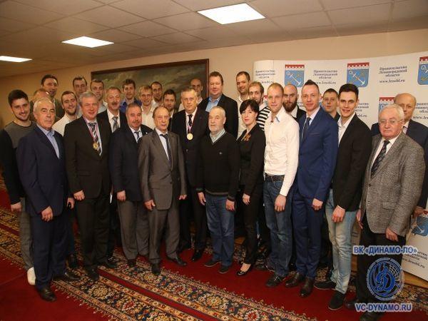 ГК «КВС» - партнер волейбольного клуба «Динамо – Ленинградская область»