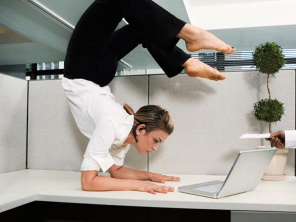 Производственная гимнастика - Ягодицы всему голова