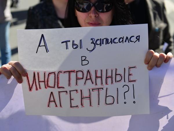 Россиян, получающих деньги отиностранных государств, могут приравнять киноагентам