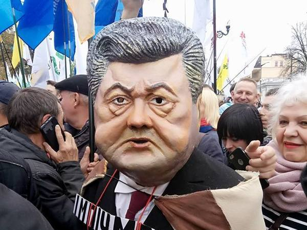 Митинг у рады в Киеве: в стычках с полицией есть пострадавшие