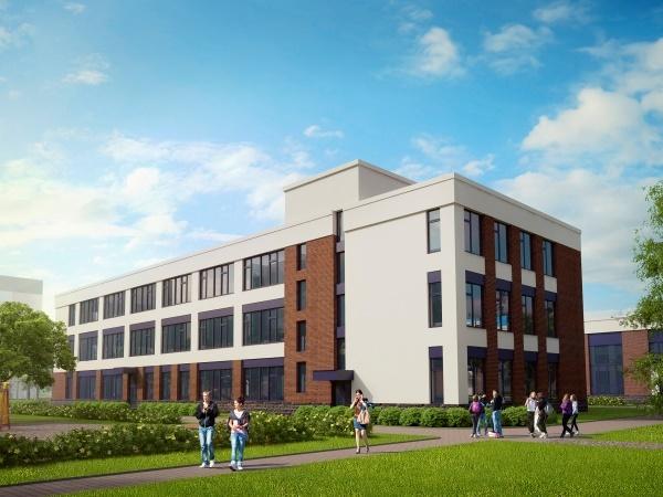 Компания «Строительный трест» продолжает строительство общеобразовательной школы в жилом квартале NEWПИТЕР