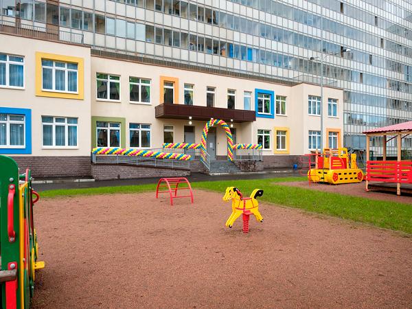 Компания «Полис Групп» открыла новый детский сад в Мурино