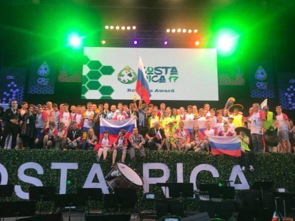 Петербуржцы подтвердили первенство на Всемирной олимпиаде роботов