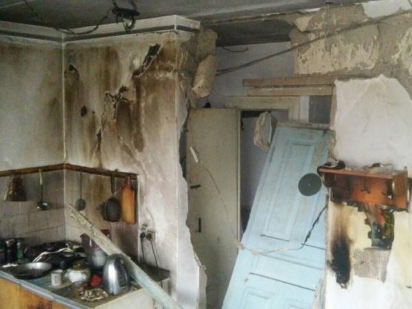 В Крыму взорвался газ в жилом доме