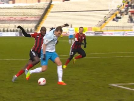 «Фонтанка» показывает спорные моменты матча в Перми