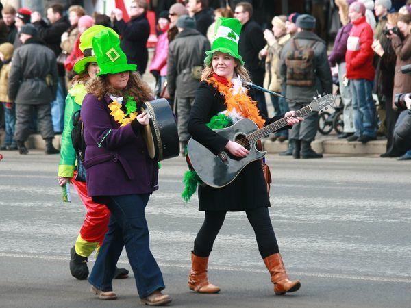 Петербуржцы присоединились к празднованию Дня святого Патрика