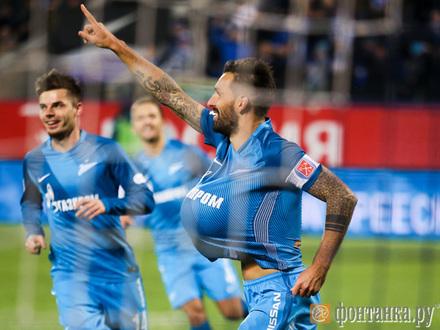 «Зенит» обыграл «Арсенал» и сократил отставание от «Спартака»