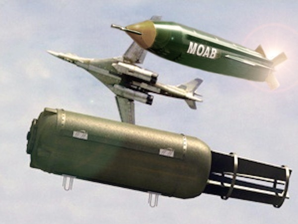 """""""Папа может"""" или чья бомба круче? Вакуумная бомба VS GBU-43"""
