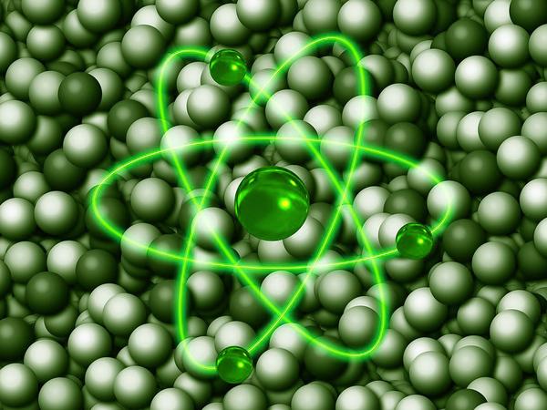 «Зелёный» свет атому