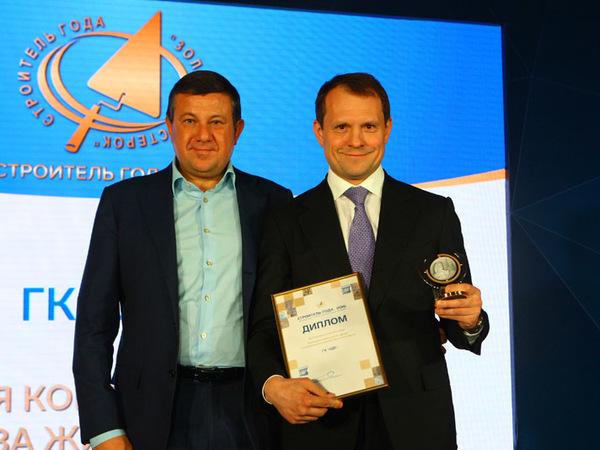 Строители Петербурга получили «Золотой мастерок»