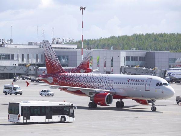 Авиакомпания «Россия» назвала самолет в честь Архангельска