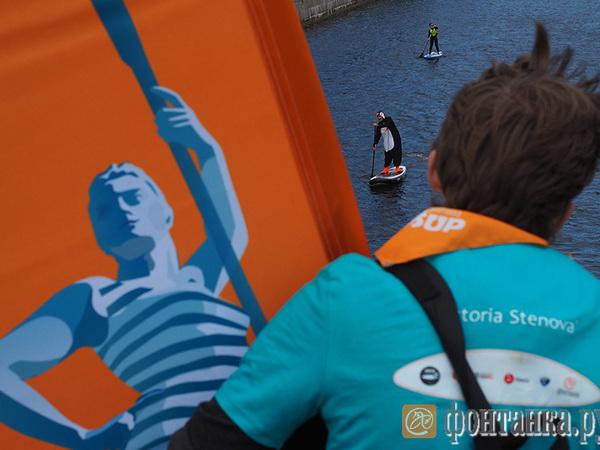 Фестиваль «Фонтанка-SUP»: Петербург, вот весло!