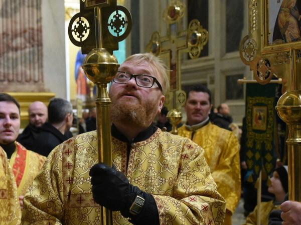 Как Милонова из духовной семинарии выгнали