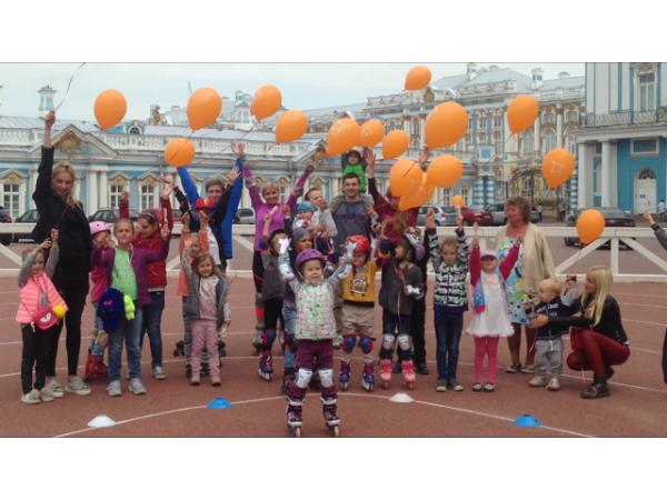 На Царскосельском скейт-ринге прошёл праздник в «Образцовых» традициях